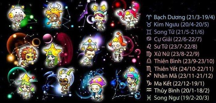Tổng hợp bí mật 12 cung hoàng đạo mới nhất cho bạn
