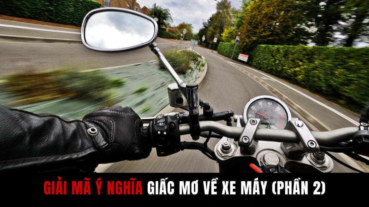 Giấc mơ thấy xe máy