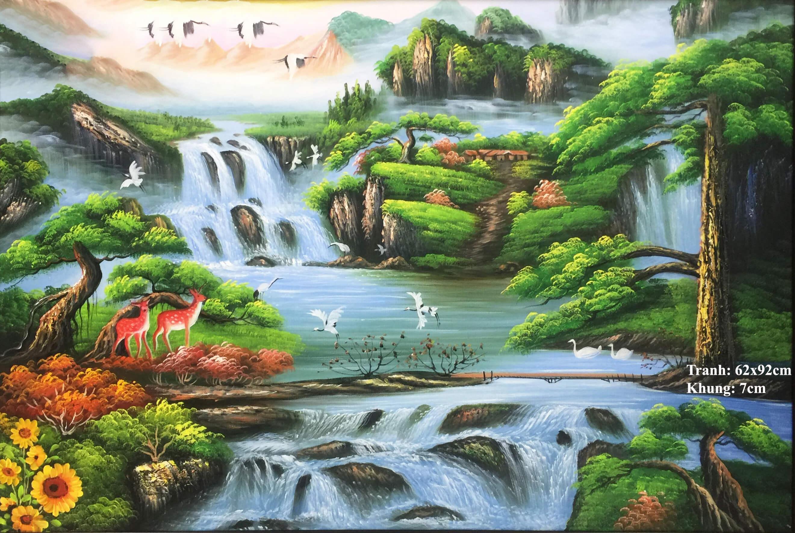 Tranh mừng tân gia – món quà phong thủy tuyệt đẹp - YeuTranh.vn